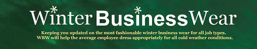 Winter Business Wear