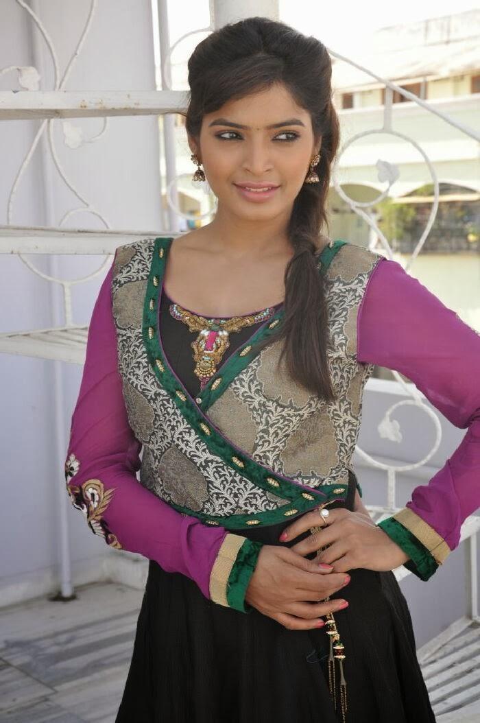 Sanchita shetty photo gallery in salwar kameez at villa press meet