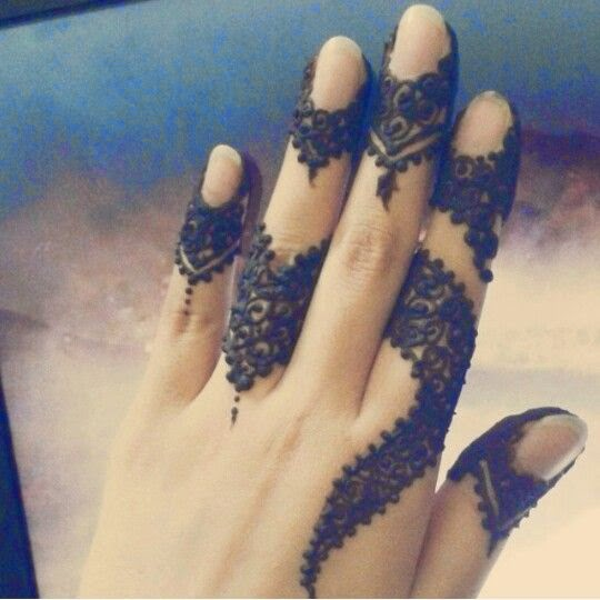 Mehndi Design With Fingers : Fingers mehndi design beauty makeup tips jigartv