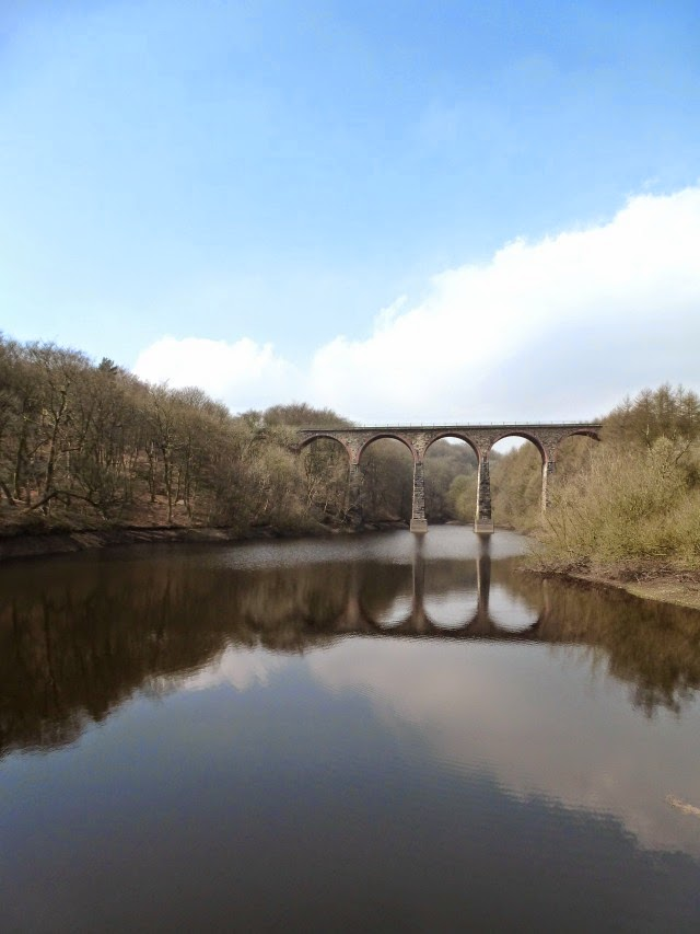 Arches over a river