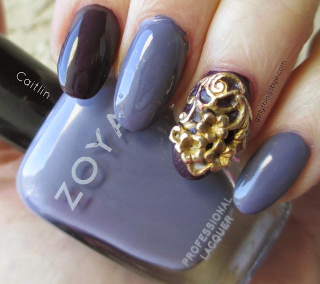 Zoya Caitlin, nail veil, @girlythingsby_e