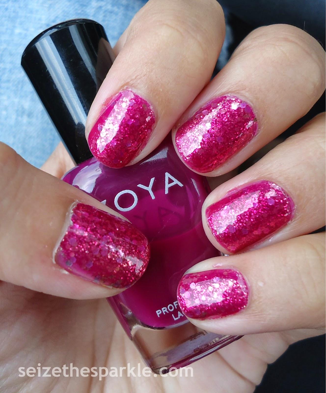 Zoya Paloma Jelly Glitter Sandwich