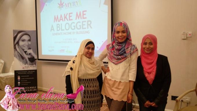 Bengkel Make Me A Blogger Bersama MYRL