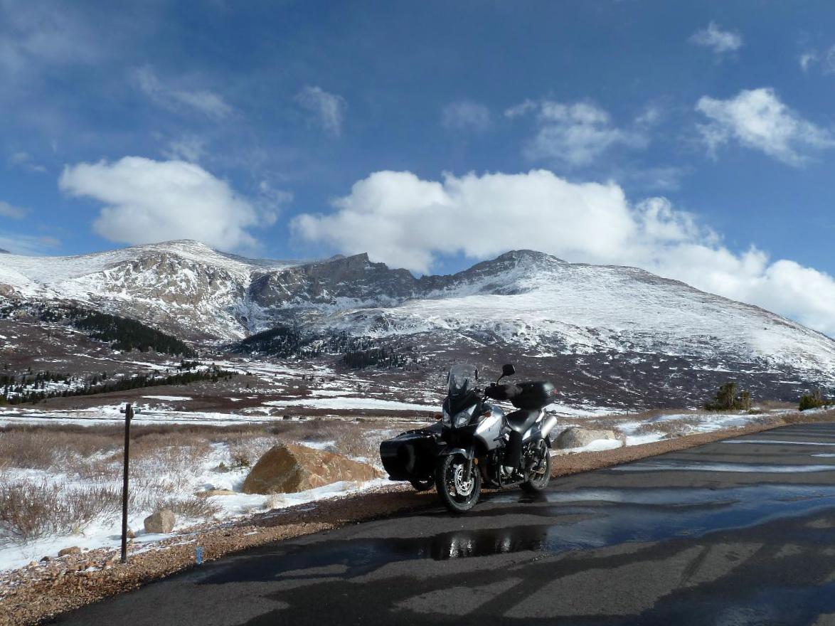Yoshie on Guanella Pass