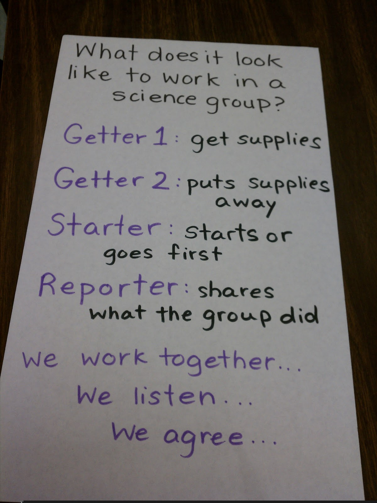 Science Gal Setting Expectations For Group Work