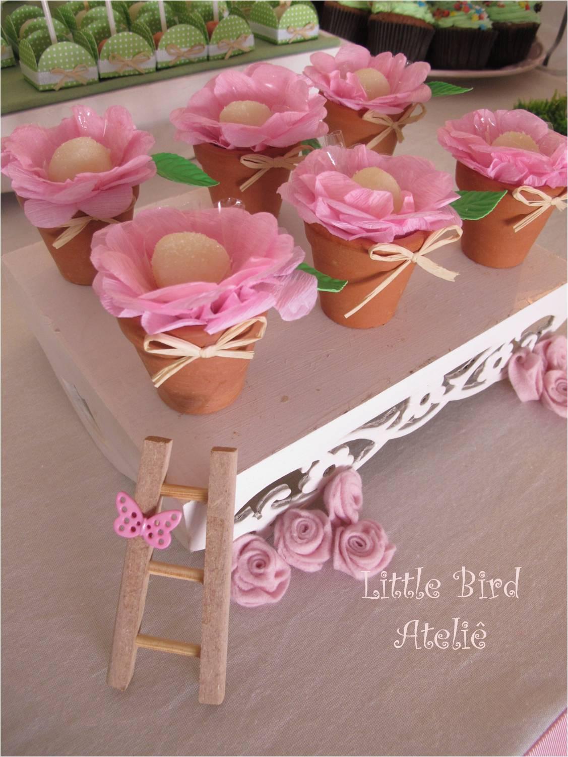Little Bird Ateliê Festa Jardim das Borboletas da Duda