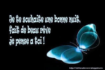Message amour bonne nuit