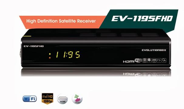 EVOLUTIONBOX EV FHD 1195 - ATUALIZAÇÃO 19/11/2013