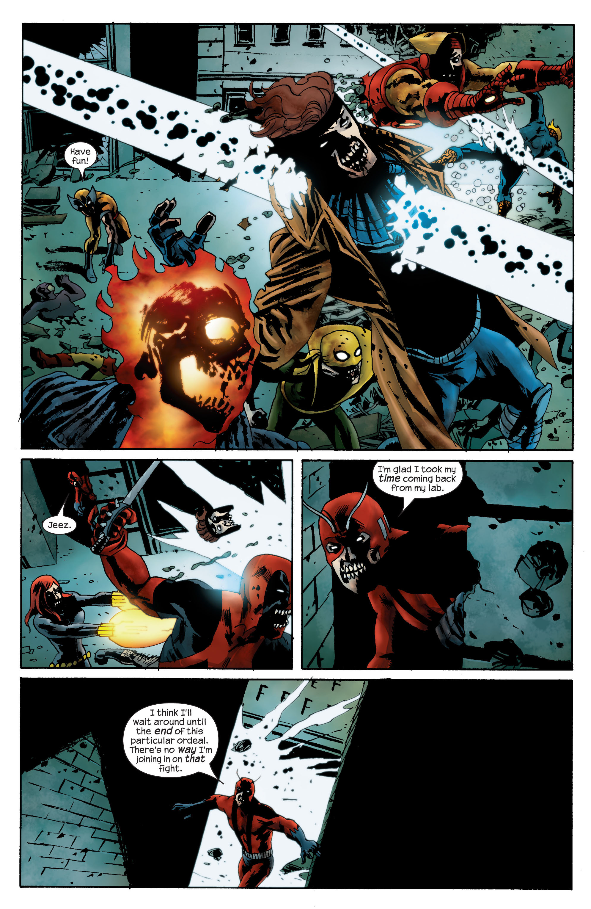 Marvel Zombies (2006) Issue #3 #3 - English 7