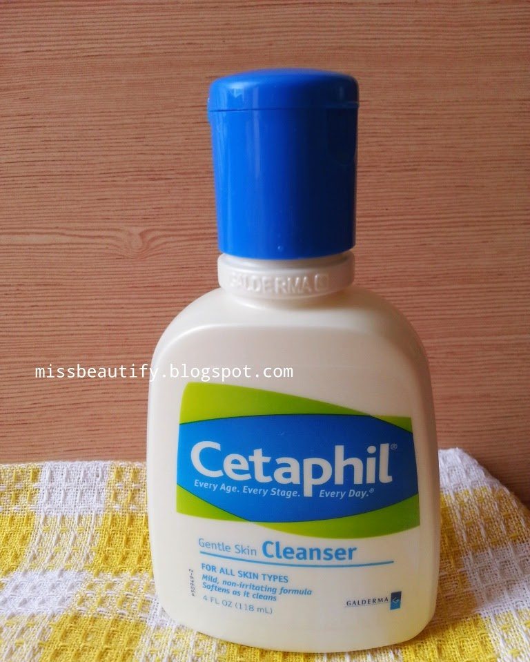 Miss Beautify Beautify Your World Review Cetaphil Gentle Skin