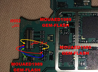 Samsung Win I8552 touch screen full jumper diagram