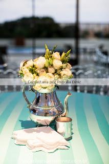 cha amanda 27 Chá de Cozinha Tiffanys inspired !!