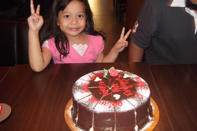 Aisya turn to 5