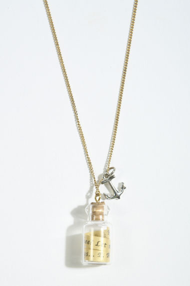 bottle necklace urban outfitters