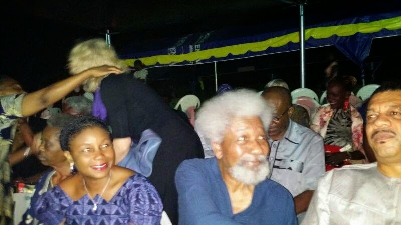 wole soyinka 80th birthday forest
