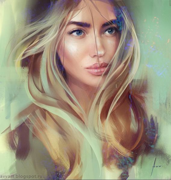 Fascinating Digital Paintings by Aleksei Vinogradov