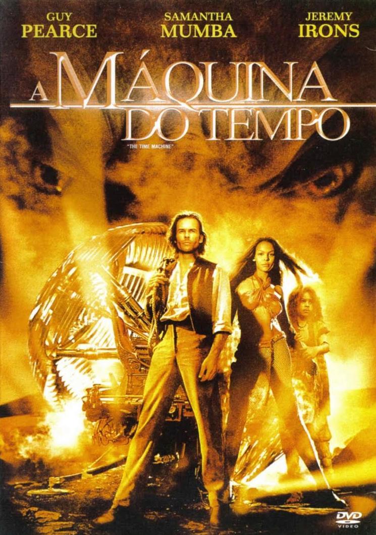 Filme A Máquina Do Tempo Dublado AVI DVDRip