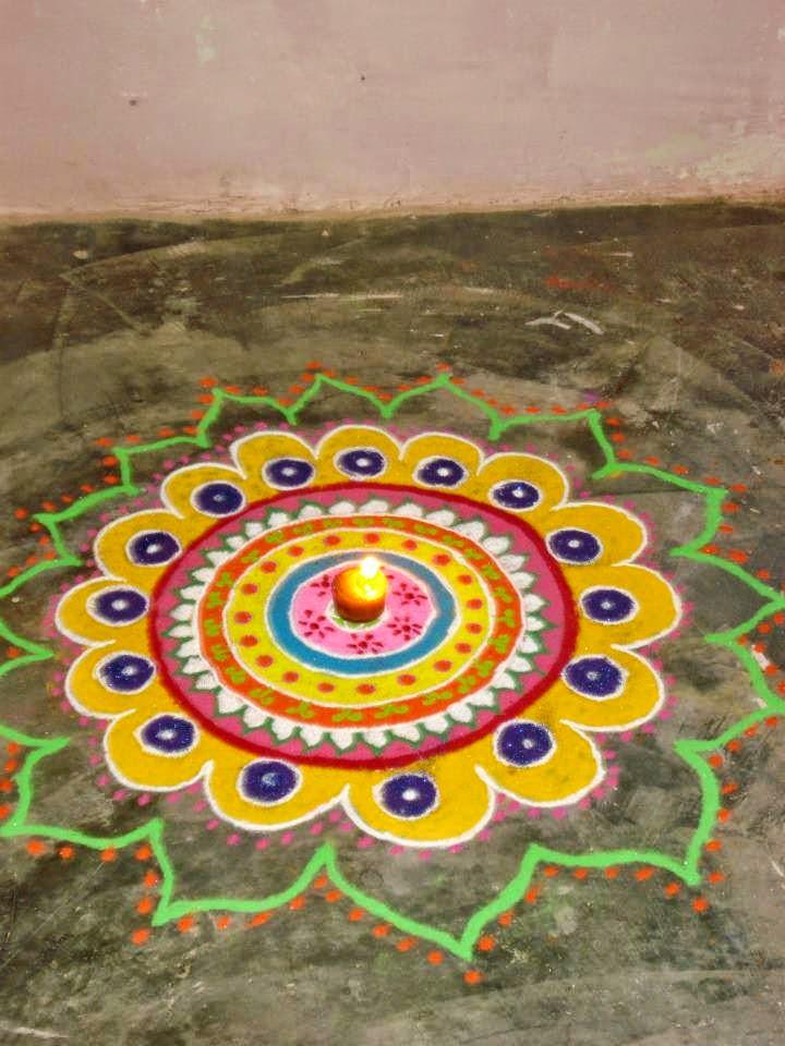 Kids Rangoli Designs 13