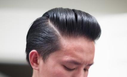 Hasil Pemakaian Minyak Rambut Beaux Light Pomade Kilau Tinggi Kekuatan Lembut