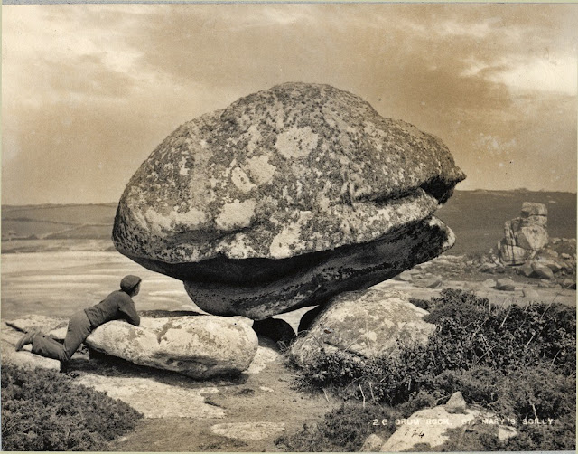 The 'Drum Rock', St. Mary's. Scilly Isles. Weathering of granite.