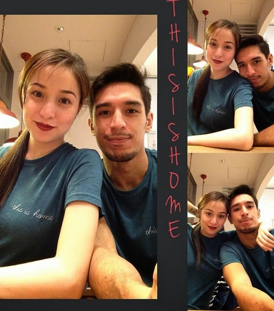 Cristine Reyes and Ali Kahtibi