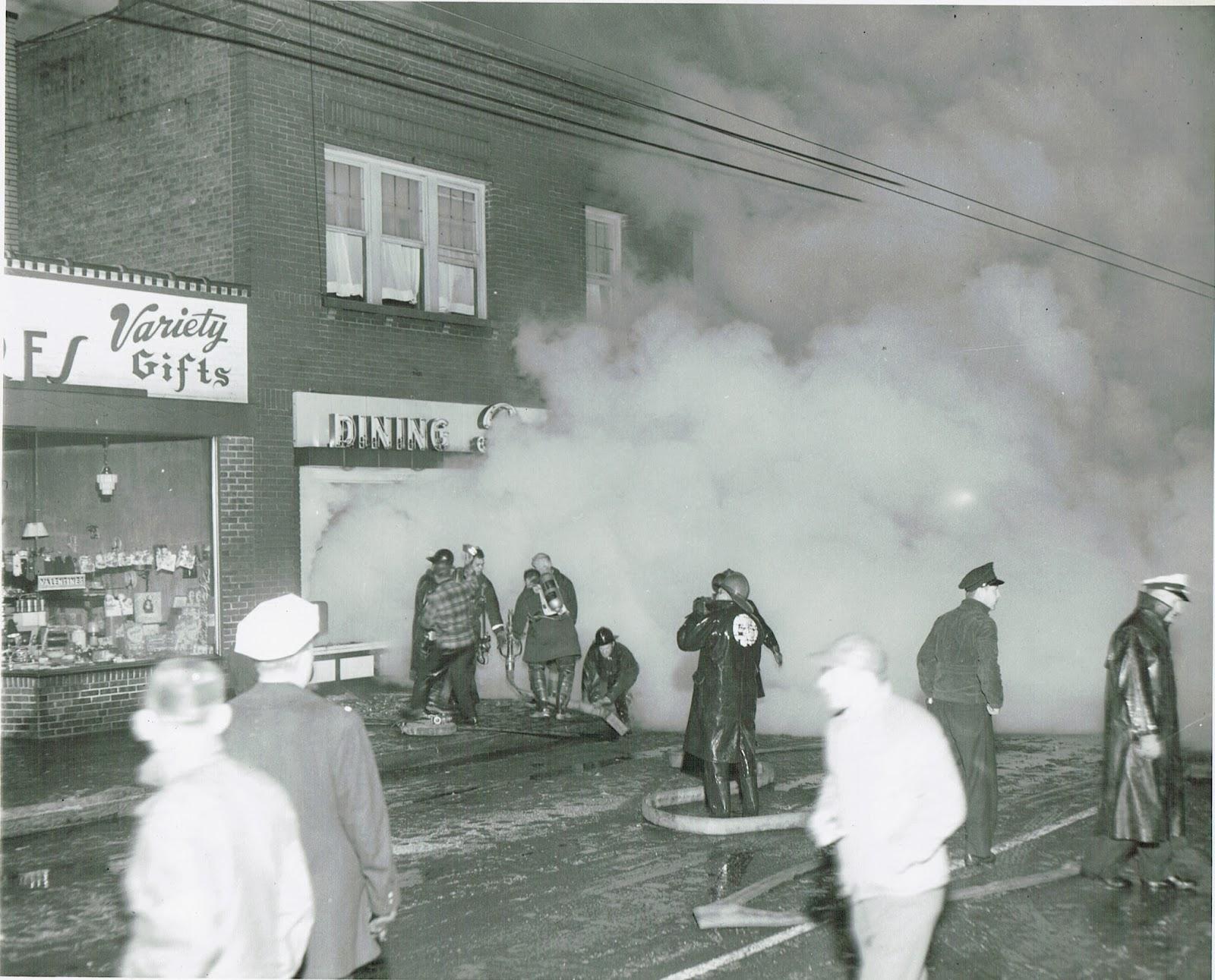 Reeb's Restaurant fire Columbus Ohio