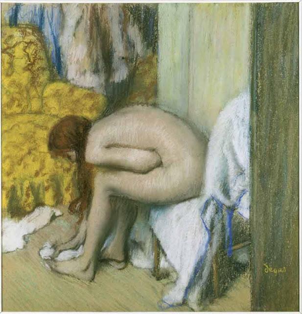 Degas, Après le bain, une femme s'essuyant les pieds, © RMN (Musée d'Orsay)