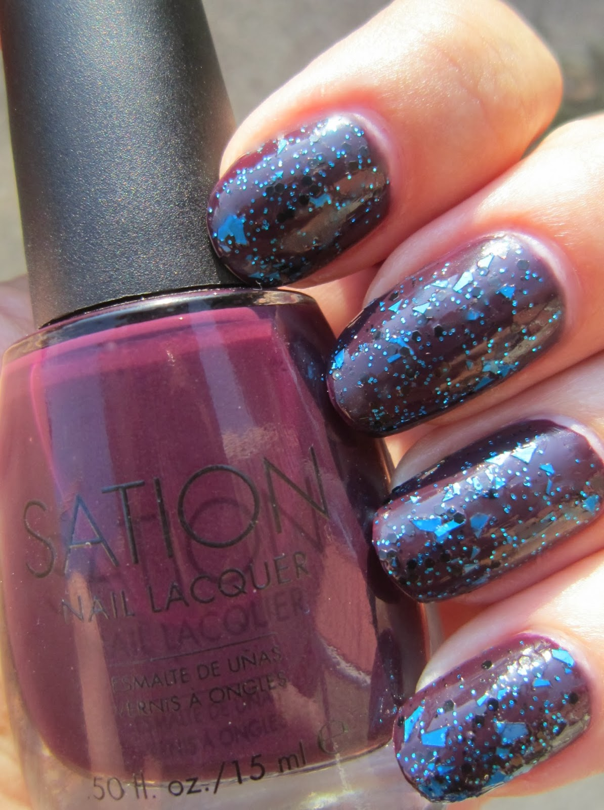 Concrete and Nail Polish: Sation Wine-y Happy People & Tall Dark ...