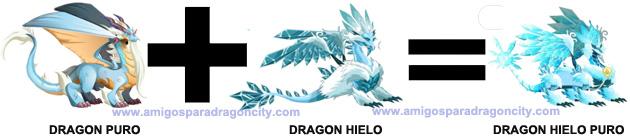 como sacar el dragon hielo puro en dragon city