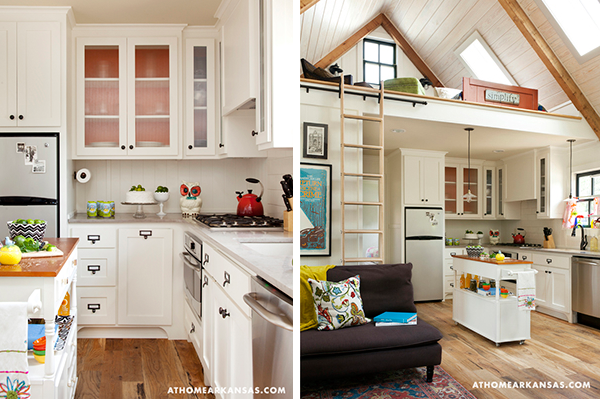 Wayfaring girl on a mission the small house movement for Beautiful small homes interiors