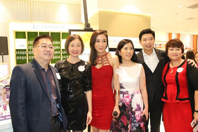 Tavia Yeung, Kinohimitsu Total Eyebright, Kinohimitsu Beauty Bar, Parkson Pavilion