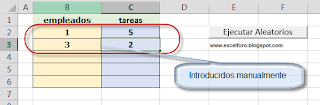 VBA: Listas aleatorias sin repetición combinados con elementos manuales.