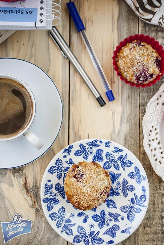 Owsiane muffinki dietetyczne