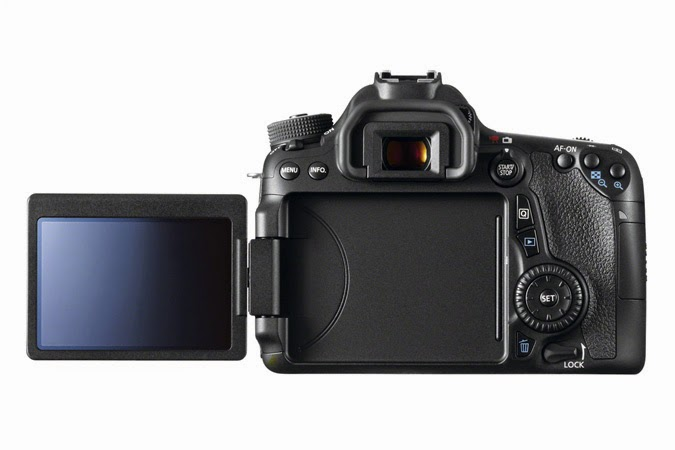 Model Kamera DSLR Terbaik 2014 Canon EOS 70D