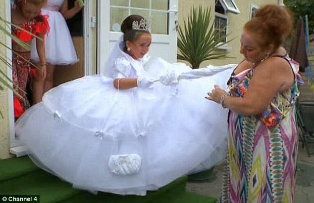 robe de mariee pour mariage gitan - Mariage Gitan Voyageur