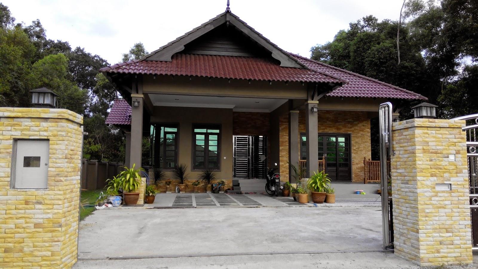 Pasang Tiles Porch Mozek Lantai Luar Rumah Desainrumahid