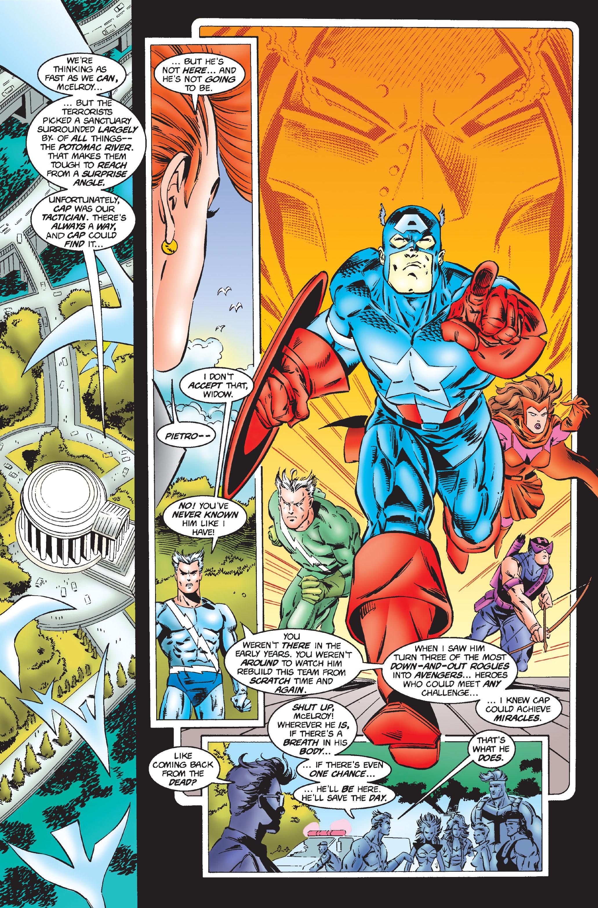 Captain America (1968) Issue #444 #398 - English 9