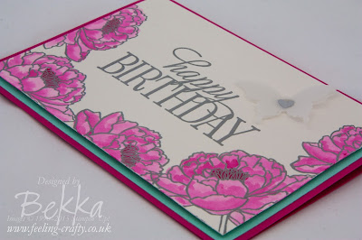 You've Got This Bright Floral Birthday Card - check out this blog for lots of great ideas using Stampin' Up! UK Products
