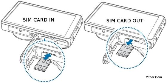 Insert Remove microSIM Card Samsung Galaxy Camera EK GC100