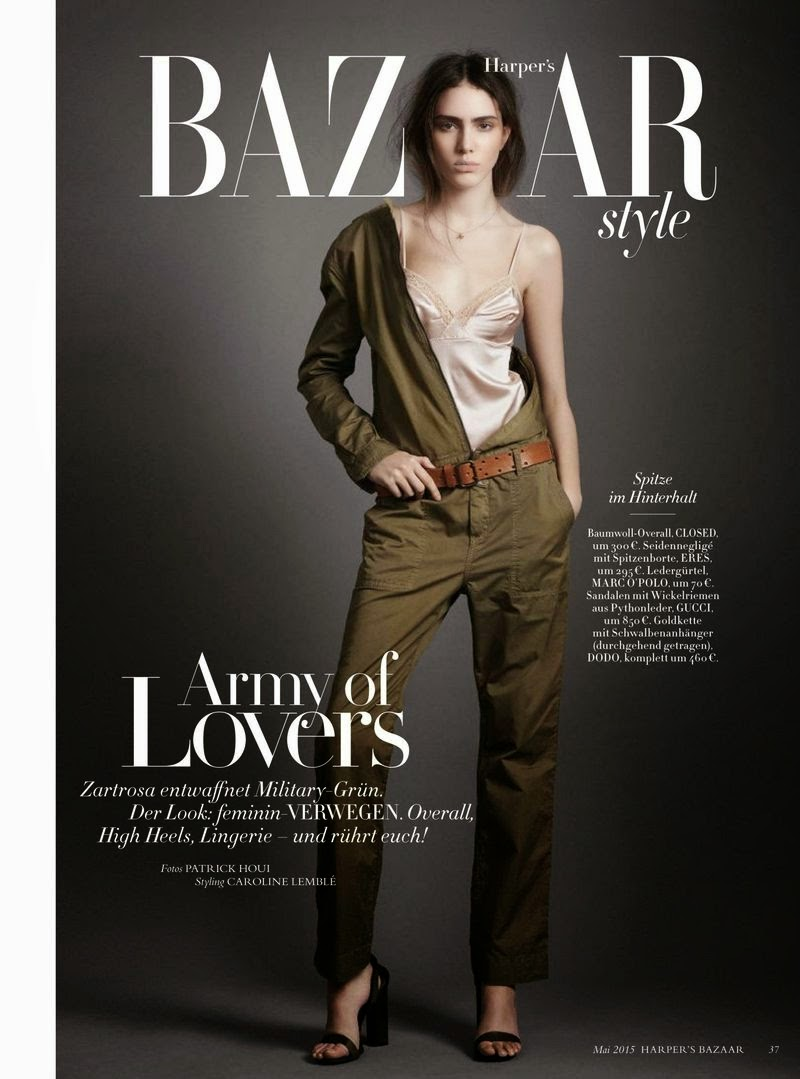 Model @ Tako Natsvlishvili - Harpers Bazaar Germany, May 2015