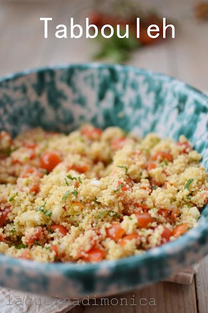tabbouleh , l'insalata più diffusa nella cucina mediorientale