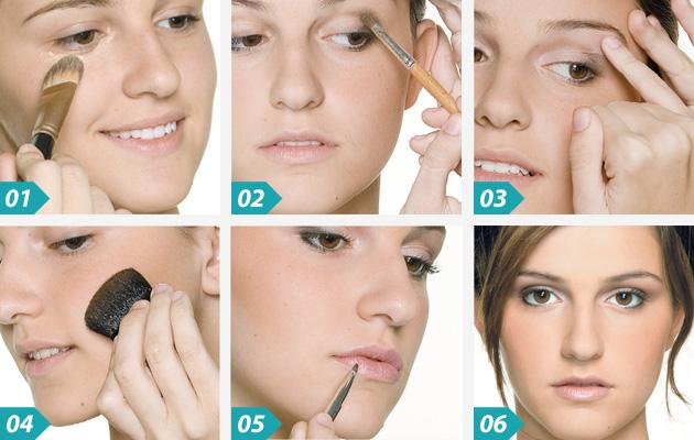 Maquiagem Passo a Passo Para o Dia Maquiagem Para o Dia Passo