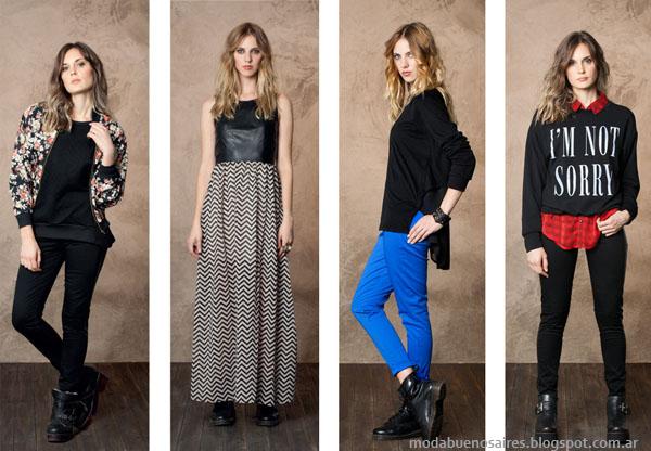 Nucleo Moda otoño invierno 2014. Moda ropa de mujer invierno 2014.