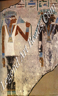 Wall Painting of the daughters of Djehuti- hotpe, from his tomb at Deir el- Bersha