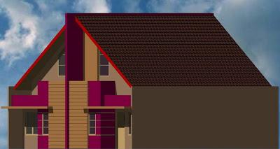 rumah sederhana minimalis rumah type 54 kopel