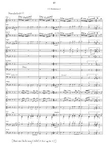 Partitura (Orquestra, solistas e corais)