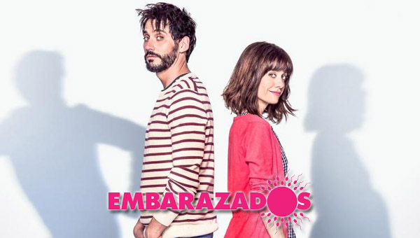 """Paco León y Alexandra Jiménez en """"Embarazados"""""""