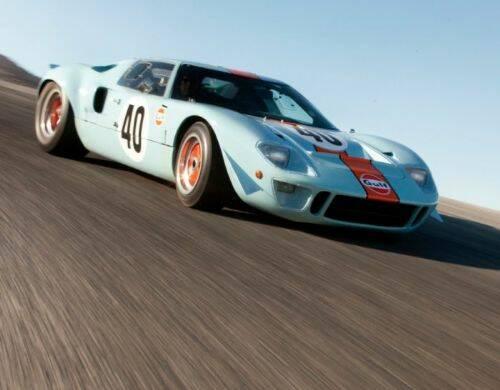 El auto mas caro del mundo es el GT40