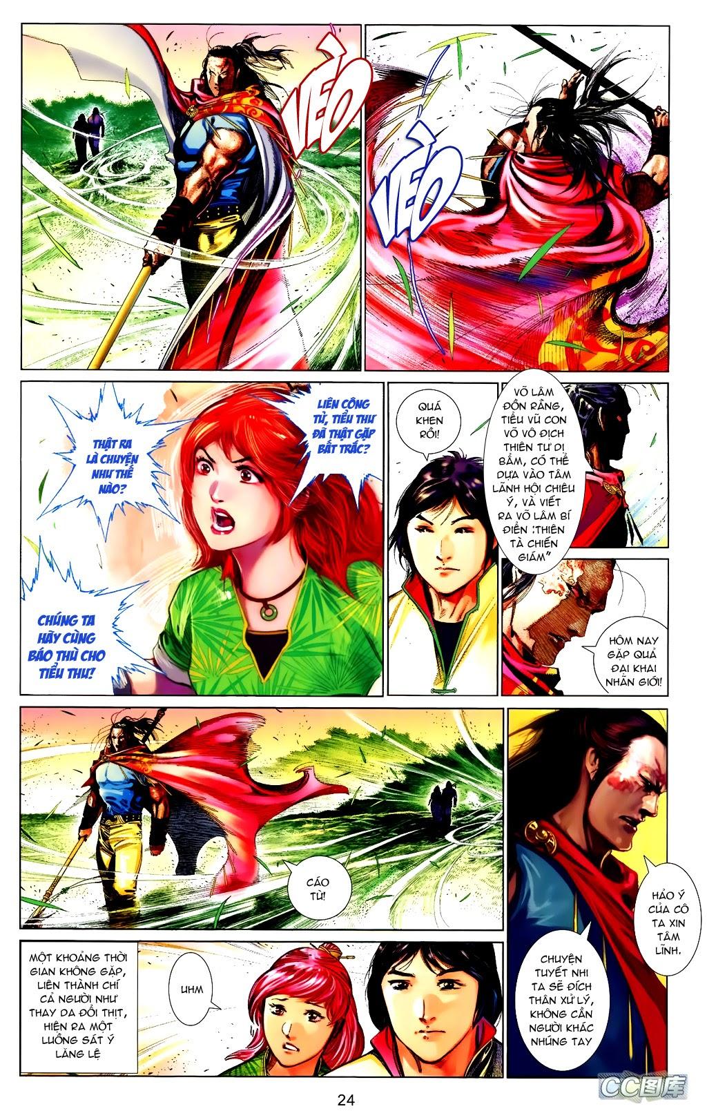 Phong Vân Chap 663 - Trang 24
