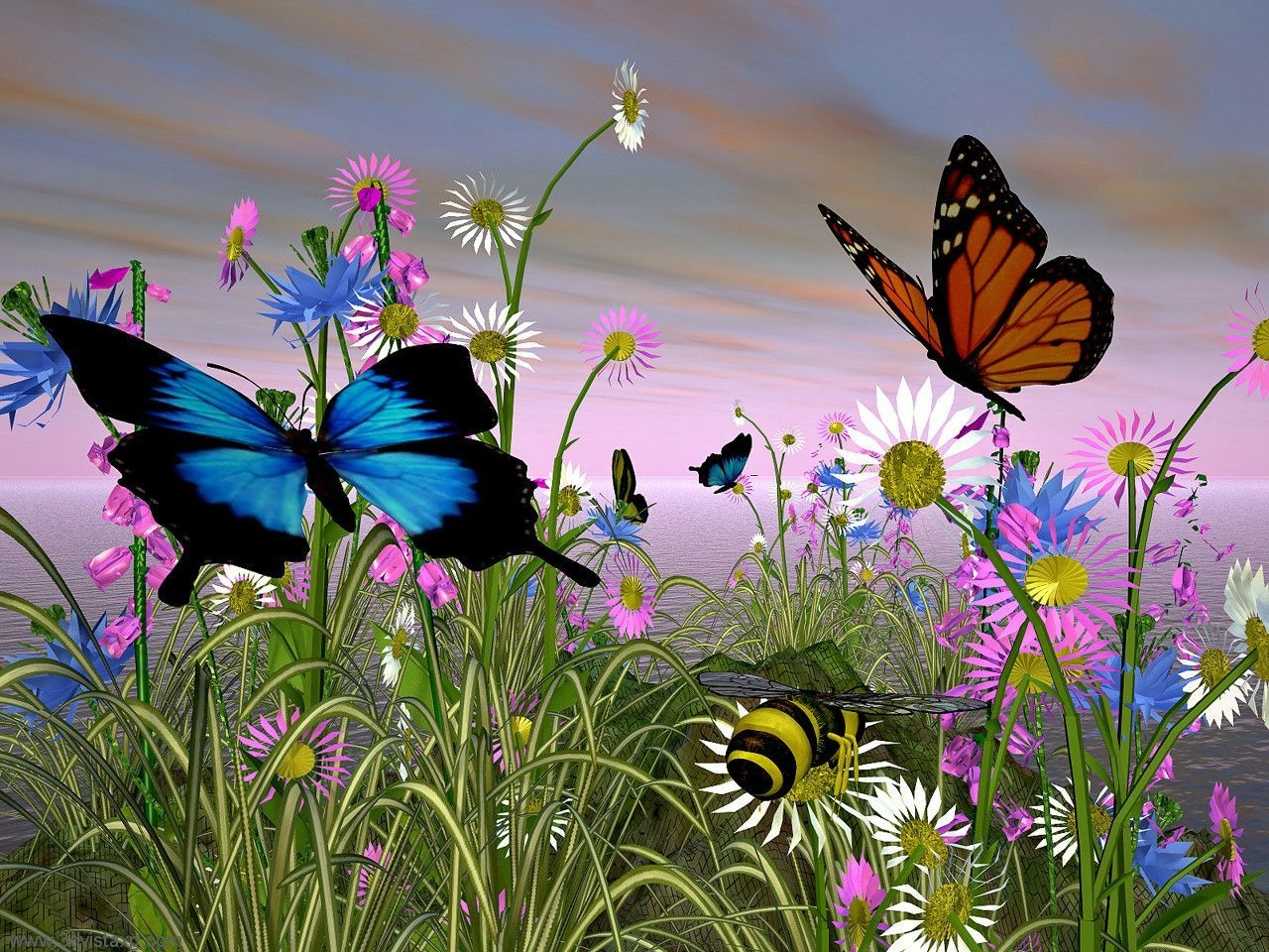 butterfly wallpapers flying - photo #16